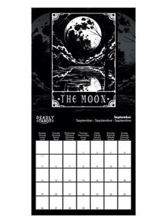 Deadly Tarot: Square 2022 Calendar - 2