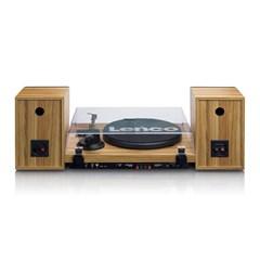 Lenco LS-500 Wood Turntable and Speakers - 4