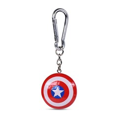Captain America Shield 3D Keychain - 1