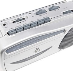 GPO Retro Cassette Player w/ AM/FM Radio - 2