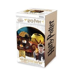 Weasley Tea & Egg Cosy: Harry Potter Knit Kit - 5