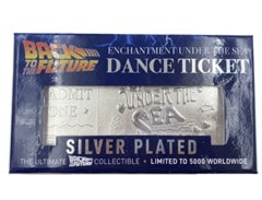 Back To The Future: Silver Plated Ticket Metal Replica (online only) - 4