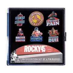 Rocky Limited Edition Pin Badges (Pack of 6) - 4