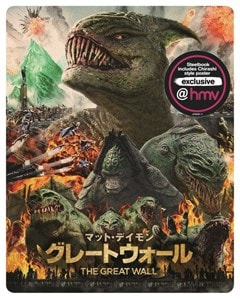 The Great Wall (hmv Exclusive) - Japanese Artwork Series #8 Limited Edition Steelbook - 2