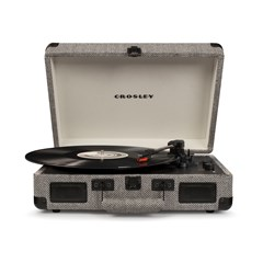 Crosley Cruiser Deluxe Herringbone Turntable - 2