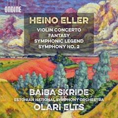 Heino Eller: Violin Concerto/Fantasy/Symphonic Legend/... - 1