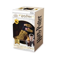 Hufflepuff Mittens & Slouch Socks: Harry Potter Knit Kit - 4