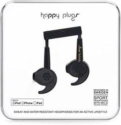 Happy Plugs Sport Black Sports Earphones (online only) - 2