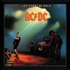 AC/DC Let There be Rock Framed Wall Art - 1