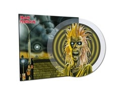 Iron Maiden - 40th Anniversary Limited Edition Crystal Clear Picture Disc Vinyl - 1