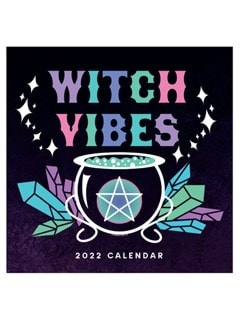 Witch Vibes: Square 2022 Calendar - 1