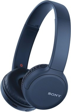 Sony WHCH510 Blue Bluetooth Headphones - 1