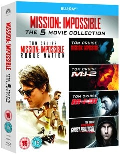 Mission: Impossible 1-5 - 2