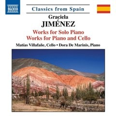 Graciela Jimenez: Works for Solo Piano/Works for Piano and Cello - 1