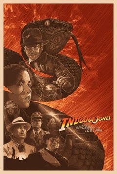 Indiana Jones: Why'd It Have To Be Snakes? Devin Schoeffler Limited Edition Lithograph Print - 1
