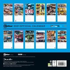 Top Gear: Square 2021 Calendar - 3