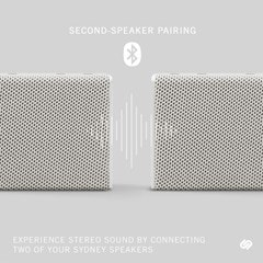 Urbanista Sydney White Mist Bluetooth Speaker - 2