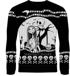 Seriously Spooky: The Nightmare Before Christmas Christmas Jumper (Small) - 1