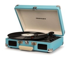 Crosley Cruiser Deluxe Turquoise Turntable - 2