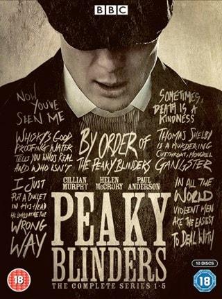 Peaky Blinders: The Complete Series 1-5