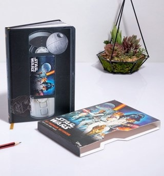 Star Wars (A New Hope) VHS Premium A5 Notebook