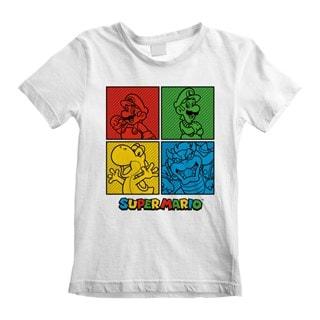Nintendo Super Mario Squares (Kids Tee)