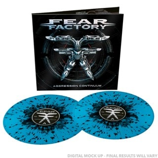 Aggression Continuum (hmv Exclusive) Limited Edition Sky Blue/Black Splatter Vinyl