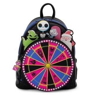 Nightmare Before Christmas: Oogie Boogie Wheel Mini Loungefly Backpack