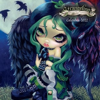 Strangeling: Jasmine Becket-Griffith Square 2022 Calendar