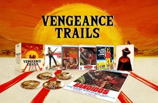 Vengeance Trails - Four Classic Westerns Limited Edition