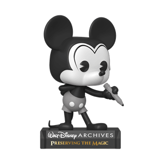 Black & White Mickey Mouse (797) Disney Archives Pop Vinyl
