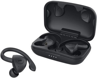 Jam Athlete Black True Wireless Bluetooth Sports Earphones