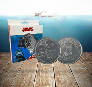Jaws: Metal Embossed Coaster Set