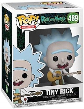 Pop Vinyl: Tiny Rick with Guitar (489): Rick & Morty