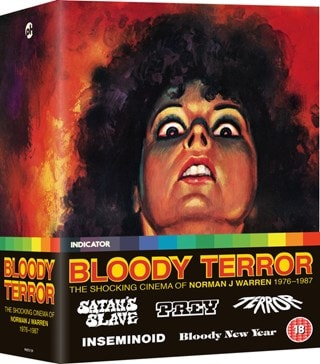 Bloody Terror - The Shocking Cinema of Norman J Warren 1976-1987