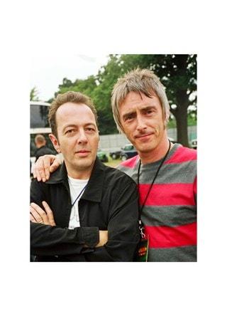 Joe Strummer & Paul Weller at V Festival (Size 50x70cm) Print