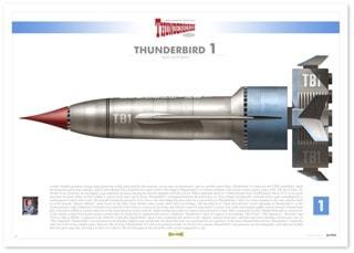 Thunderbird 1: Infographic Art Print