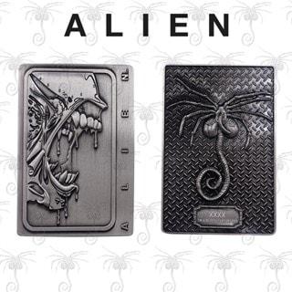 Xenomorph: Alien Antique Silver Metal Collectible (online only)