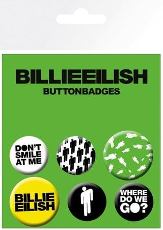 Billie Eilish: Stickman Badge Pack