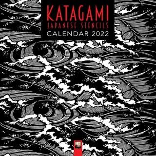 Moda Japanese Stencils: Katagami Square 2022 Calendar