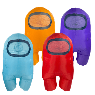 Among Us Purple (Kids Size) Official Inflatable Costume