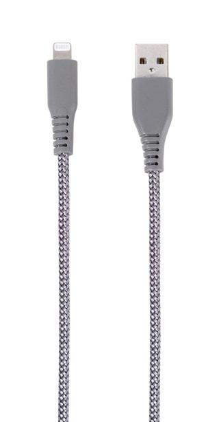 Vivanco Grey Longlife Lightning Cable 2.5m