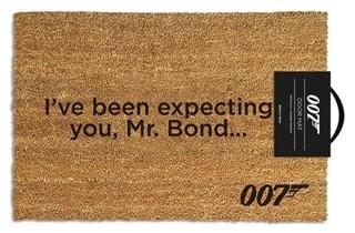 James Bond: I've Been Expecting You Door Mat