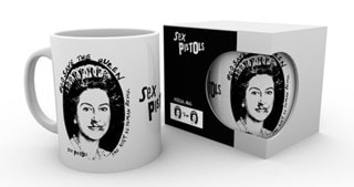 The Sex Pistols God Save The Queen Mug