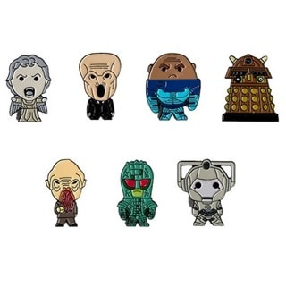 Doctor Who: Monsters and Villains Pin Badge Box Set