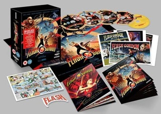 Flash Gordon 40th Anniversary 4K Ultra HD Collector's Edition