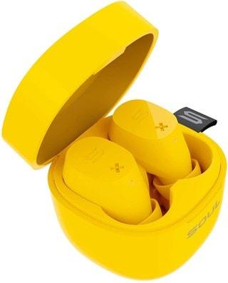 Soul ST-XX Yellow True Wireless Bluetooth Earphones