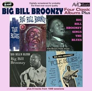 Four Classic Albums Plus: The Blues/Sings the Blues/Big Bill's Blues/Folk Blues