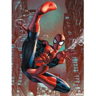 Spider-Man: Web Sling Canvas Print
