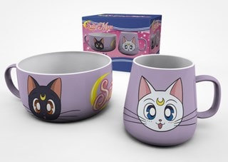 Sailor Moon (Luna And Artemis) Breakfast Set